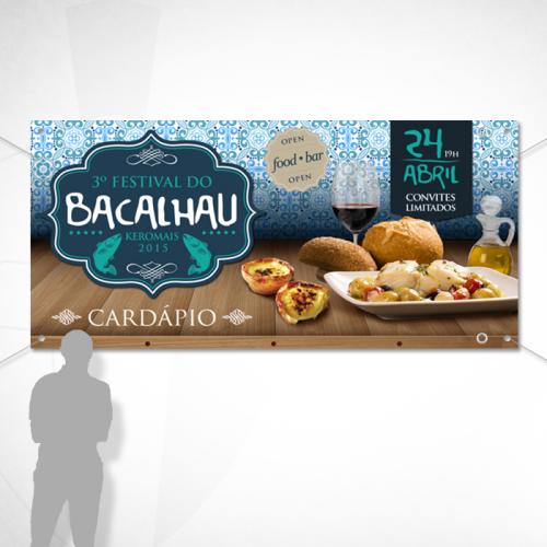 Banner Keromais - 3º Festival de Bacalhão