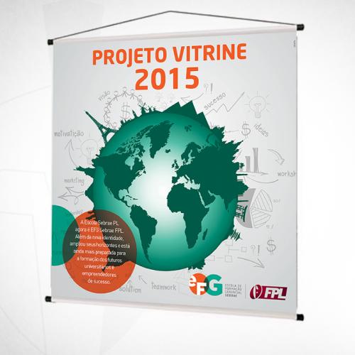 Banner Projeto Vitrine 2015